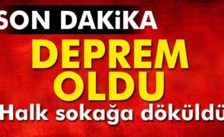 Son Dakika Haberi... Ege'de Deprem Meydana Geldi