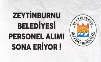 Zeytinburnu Belediyesi Müfettiş Yardımcısı Alımı Sona Eriyor