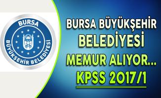 Bursa Büyükşehir Belediyesi ÖSYM Merkezi Yerleştirme ile Memur Alıyor