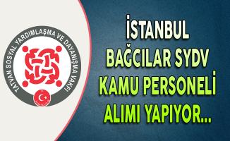 İstanbul Bağcılar SYDV Personel Alım İlanı
