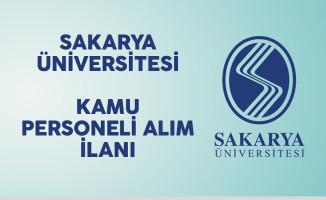 Sakarya Üniversitesi Kamu Personeli Alım İlanı