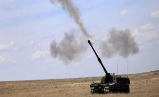 TSK Suriye'nin Afrin Kentinde Bulunan PYD/YPG Mevzilerini Bombaladı!