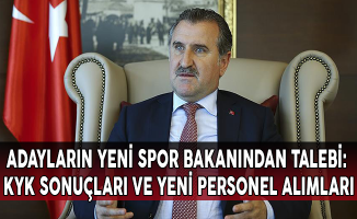 Adayların Yeni Spor Bakanından Talebi: KYK Sonuçları ve Yeni Personel Alımları