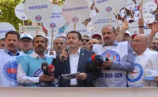 """Memur-Sen TOÇ Bir-Sen ve Bağlı Sendikalar """"2018-2019 Toplu Sözleşme Tekliflerini"""" Kamuoyuna Duyurdu!"""