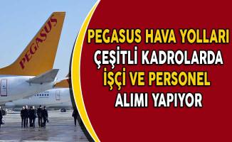 Pegasus Hava Yolları İşçi ve Personel Alıyor