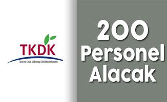 Tarım ve Kırsal Kalkınmayı Destekleme Kurumu (TKDK) 200 Kamu Personeli Alım İlanı