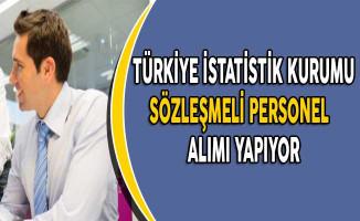 Türkiye İstatistik Kurumu Başkanlığı Sözleşmeli Personel Alım İlanı