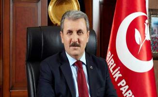 BBP Genel Başkanı Mustafa Destici Alperen'in Ailesini Ziyaret Etti