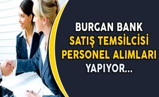 Burgan Bank Saha Satış Temsilcisi Personel Alımı Yapıyor