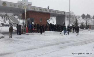 Kırıkkale'de Nöbet Sırasında Kaza Kurşunu ! 1 Polis Şehit, 1 Polis Yaralı