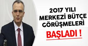 2017 Yılı Merkezi Bütçe Görüşmelerine Başlandı