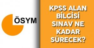29 Mayıs 2016 KPSS Alan Sınavı Süresi Ne Kadar? Sınav Hakkında Detaylı Bilgiler Kamu Personeli Sitesinde!