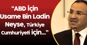 Adalet Bakanı Terörist Başının İadesi İçin ABD'ye Gitti