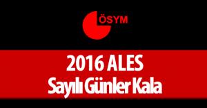ALES Çıkmış Sorular ( 2016 ALES için Geri Sayım Başladı )