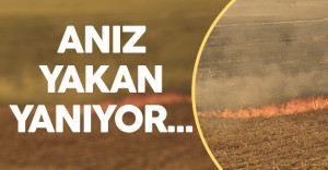 Anız Yakan Çiftçilere Ceza Yağıyor