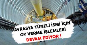Avrasya Tünelinin İsmi İçin Oy Verme İşlemi Devam Ediyor ! (anket.udhb.gov.tr)