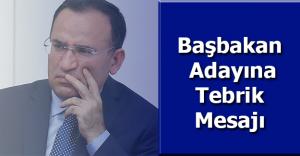 Adalet Bakanı Bekir Bozdağ'dan, Başbakan Adayı Binali Yıldırım'a Tebrik Mesajı