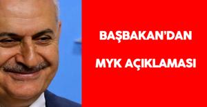 Başbakan Binali Yıldırım MYK 'yı Açıkladı