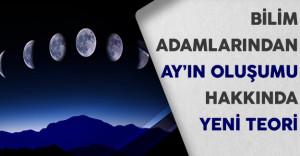 Bilim Adamlarından Ay'ın Oluşumu Hakkında Yeni Teori