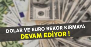 Dolar ve Euro Rekor Kırmaya Devam Ediyor (Dolar ve Euro Ne Kadar?)