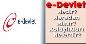 e-Devlet Nedir, e-Devlet Şifresi Nereden Alınır, Kolaylıkları Nelerdir?