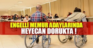 Engelli memur adayları, EKPSS sonuçlarının açıklanmasını bekliyor