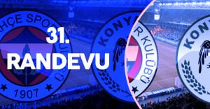 Fenerbahçe ile  Konyaspor 31#039;inci Randevuya Hazırlanıyor