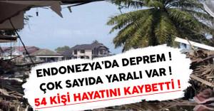 Flaş ! Endonezya#039;da 6,5 Şiddetinde Deprem ( Çok Sayıda Ölü ve Yaralı Var )