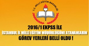 İstanbul İl Milli Eğitim Müdürlüğünden, EKPSS Açıklaması
