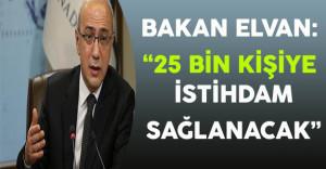 Kalkınma Bakanı Elvan 25 Bin Kişiye İstihdam Sağlayacak Projeyi Anlattı
