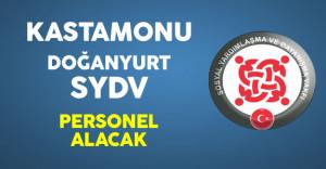 Kastamonu/Doğanyurt SYDV Personel Alımı Yapacak