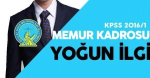 KPSS 2016/1 DHMİ Memur Kadroları için Yoğun Talep Var