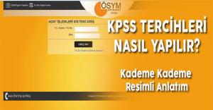 KPSS 2016/1 Tercihleri Nerede ve Nasıl Yapılır? (KPSS Başvuru Resimli Anlatım)