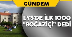 LYS'de İlk Bin Öğrenciden 670'i Boğaziçi Üniversitesini Tercih Etti