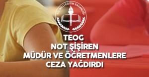 MEB TEOG Skandalı İçin Düğmeye Bastı ( O Okullara ve Müdürlere Ceza Yağacak)