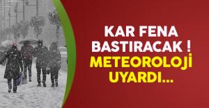 Meteoroloji uyardı ! 6 il için kar yağışı uyarısı yapıldı