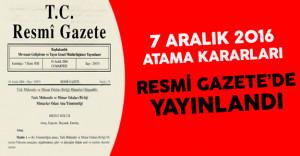 Milli Eğitim Bakanlığı ve 4 Diğer Bakanlık İçin Atama Kararları Resmi Gazete'de Yayınlandı