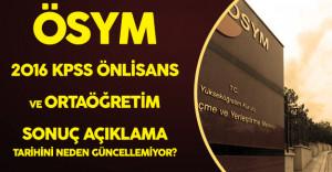 ÖSYM 1 Yıl Sonrasının KPSS Sonuç Tarihini Bile Açıkladı Ama!