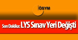 """ÖSYM 2016 LYS Hakkında Duyuru Yayımladı """"Sınav O Şehirde Yapılmayacak"""""""