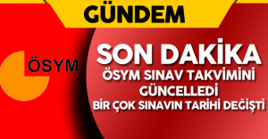 ÖSYM'den Flaş Karar !  Sınav Tarihleri Değişti ( 2016 KPSS Ortaöğretim Önlisans , DHBT ...)