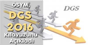 ÖSYM, DGS 2016 Başvuru Kılavuzunu Yayımladı