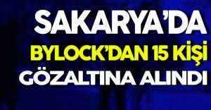 Sakarya'da 15 ByLock Şüphelisi Gözaltına Alındı
