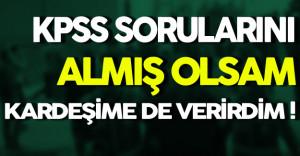 Sanık Seyman: ' KPSS Sorularını Almış Olsam Kardeşime'de Verirdim '