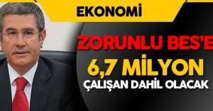 Son Dakika: Başbakan Yardımcısı Canikli'den Zorunlu BES Açıklaması