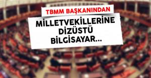 550 Milletvekiline Dizüstü Bilgisayar Dağıtıldı