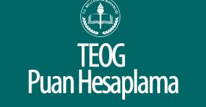 2016 TEOG Puan Hesaplama ( YEP Nedir? , Ortak Sınavlar Ortalaması Nasıl Alınır? )