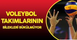 Türk Takımları Voleybol'da Hep Zirveye Oynuyor