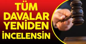 """Yapıcıoğlu : """" FETÖ'den Atılan Tüm Hakimlerin Kararları Yeniden İncelenmeli"""""""
