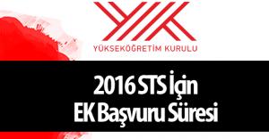 YÖK 2016 Seviye Tespit Sınavı (2016 STS) Duyurusu Yayımladı ( Başvurular İçin Ek Süre Verildi)
