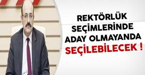 YÖK Başkanı Saraç: Rektörlük Seçimlerinde Aday Olmayanda Seçilebilecek